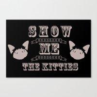 The Kitties Canvas Print