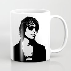 Julian Casablancas The Strokes Black And White Mug