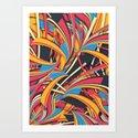 Slippery Slope Art Print