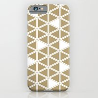 Tan Triangles iPhone 6 Slim Case