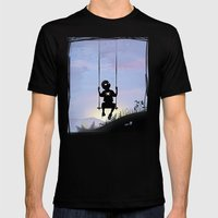 Spider Kid Mens Fitted Tee Black SMALL