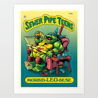 SEWER PIPE TEENS: Morbid… Art Print