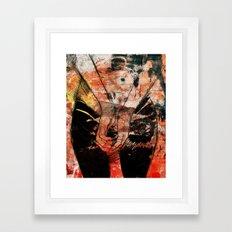bye bye bye bye bye bye bye  Framed Art Print