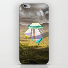 Aliens do exist - dino exctinction event iPhone & iPod Skin
