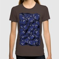 Doctor Who. Womens Fitted Tee Brown SMALL
