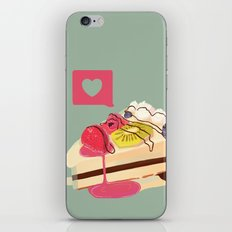 Berry Heart Cake iPhone & iPod Skin