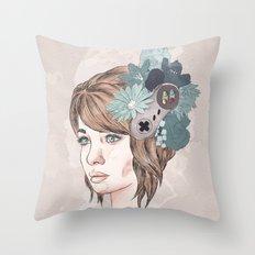 16 Bit Throw Pillow