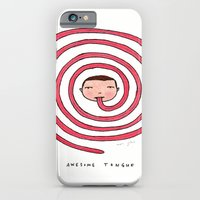 Awesome tongue iPhone 6 Slim Case
