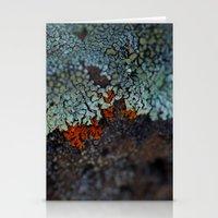 Lichen Ice Stationery Cards