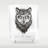 Who's your granny? (b&w) Shower Curtain