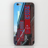 Red Sox - 2013 World Series Champions!  Fenway Park iPhone & iPod Skin