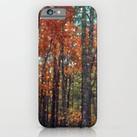 iPhone & iPod Case featuring Winter is Nigh by V. Sanderson / Chickens in the Trees