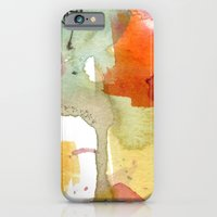 watercolour floral abstract iPhone 6 Slim Case
