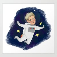 Space Niall Art Print