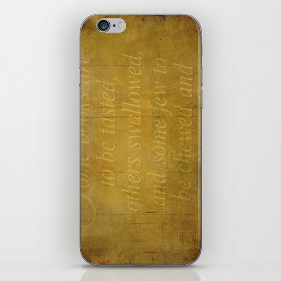 Some books are... iPhone & iPod Skin