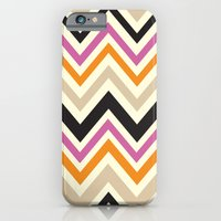 iPhone & iPod Case featuring August Chevron by Elizabeth Caldwell