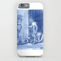 iPhone & iPod Case featuring Victor and Nora, Mr. Freeze's Heart of Ice by RandallTrang