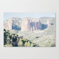 Dame montañas Canvas Print