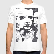 Actor's Studio Mens Fitted Tee White SMALL