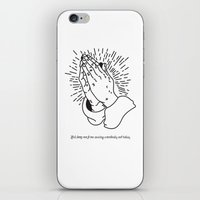 Lord Keep Me From Cussing Somebody Out Today iPhone & iPod Skin