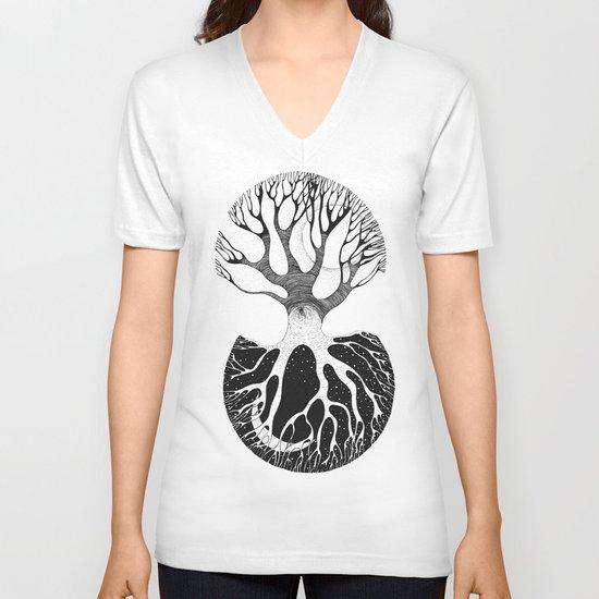 day&night V-neck T-shirt