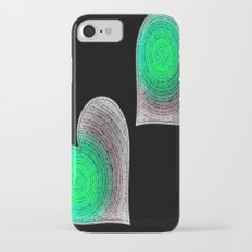 Groovy Hearts iPhone 7 Slim Case