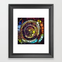 :: Crop Circle Circus :: Framed Art Print