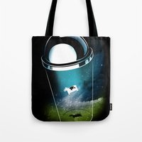 Encounters Of The Dairy … Tote Bag