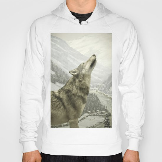 The Lone Wolf Hoody