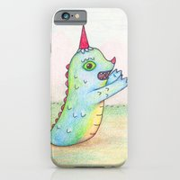 iPhone & iPod Case featuring Wormrah the 'giant' monster. by Grumble Toy