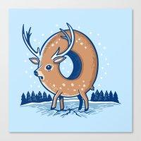 O Deer Canvas Print