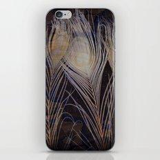 White Peacock Dream iPhone & iPod Skin