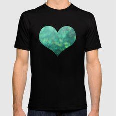 Sea of Love Mens Fitted Tee SMALL Black