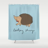 Looking Sharp Shower Curtain