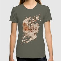 Disintegrate (A Violent Decay):  The Fragile Intensity of Existence Womens Fitted Tee Lieutenant SMALL