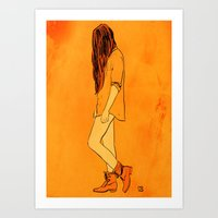 These Boots... Art Print