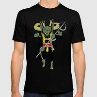 krampus Mens Fitted Tee Black SMALL