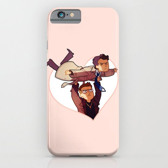 LET ME BE YOUR WINGS iPhone & iPod Case