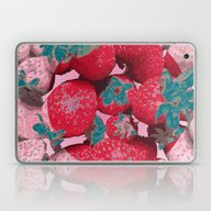 Strawberry Love (Lost Ti… Laptop & iPad Skin
