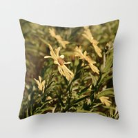 Sunward Throw Pillow