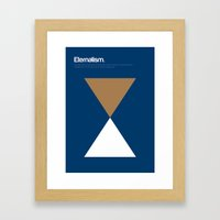 Eternalism Framed Art Print