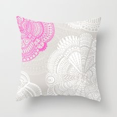 Doodle Doiley Throw Pillow