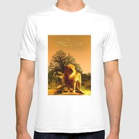 Leo Mens Fitted Tee White SMALL