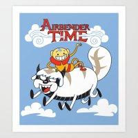 Airbender Time Art Print