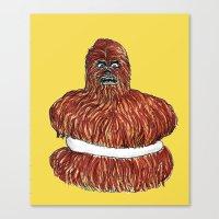 wookie pie Canvas Print