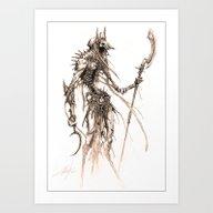 Art Print featuring Anubis by Austen Mengler