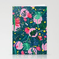 Cool Summer Night Stationery Cards