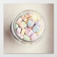 JAR OF LOVE Canvas Print