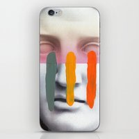 Composition On Panel 2 iPhone & iPod Skin