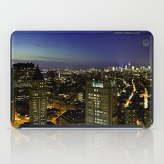 Downtown Manhattan at Night iPad Case